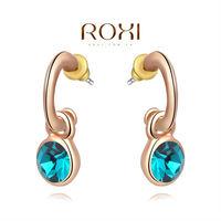 Christmas Delicate Large zircon Earrings,Gift to girlfriend is beautiful,Pure handmade fashionable elegance,2020291290