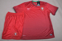 Really making the 2014 World Cup Soccer Jersey Portugal  home red soccer  red embroidery Edition