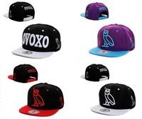 Ovoxo hat bboy hip-hop hat ovoxo snapback adjustable baseball cap hiphop cap  free  shipping