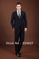 2013 New Style Hot Sale Fashion Business Suits For Men High Quality Dress Suits Size S--4XL Jacket+Pants