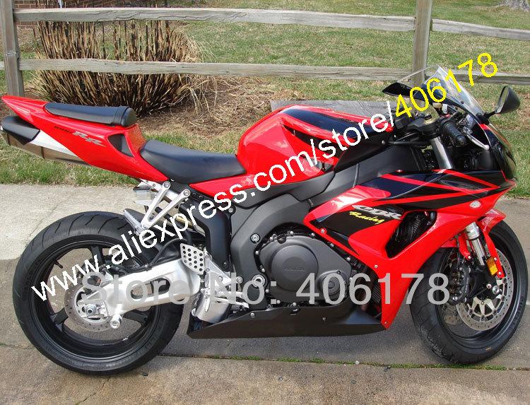 Hot Sales,Full Fairing For Honda CBR1000RR 2006 2007 06 07 CBR 1000 RR fairing Red Black motorcycle part (Injection molding)(China (Mainland))