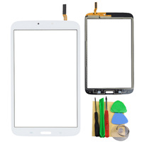 Free Shipping Touch Screen Digitizer For Samsung Galaxy Tab 3 8.0 T310 White Or Black