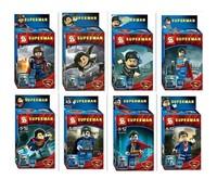 Ironman super man toy building blocks