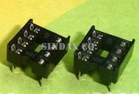 Free Ship 100pcs/lot 8-Pins DIP IC Sockets Adapter 8p IC Solder Type Socket