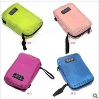 2014 Cheap Cosmetic Cases Travel mate vacation travel storage bag portable cosmetic bag polyester wash bag