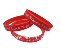 Free shipping 50PCS/lot customized wristband silicone bracelets,silicone custom bracelets,rubber bracelets custom