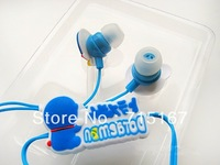 Wholesale Earphones 100pcs/lot Hot selling classic Japanese Anime Doraemon earphones 3.5mm In-Ear Cute anime headphones