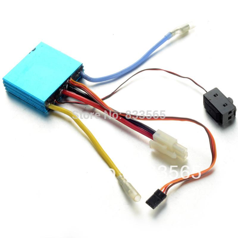 [해외] 핫 세일 보트 (50A) 속도 제어 브러시 ESC T0632 T15/Free..