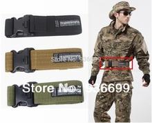 """2"""" dural nylon Tactical Combat BDU SWAT Airsoft Duty Belt no metal Hunting Survival camping hiking(China (Mainland))"""