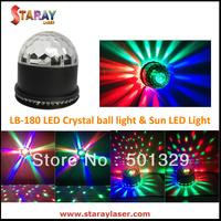 Free shipping! LB-180 mini LED magic crystal ball light