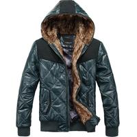 2013 winter slim thickening cotton-padded jacket dark green p130 1237