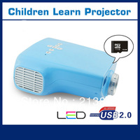 2013 new Portable Mini LED vedio Projector,LED Digital Video Children eduction Projection equipment VGA TV AV SD card projektor