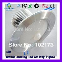 led sensor lights,sensor lamp,  hot sell  voltage ac85-265v motion sensor led recessed light