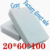 180pcs/lot Gray Magic Sponge Eraser Melamine Cleaner,multi-functional Cleaning 100x60x20mm Wholesale Retial