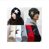 2013 New Style Bonnet Cap Wool Hats For Man And Women 7 Colors 1pc/lot