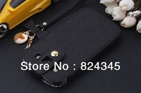 free shipping sale so cheap for samsung i9300 galaxy SIII leather case