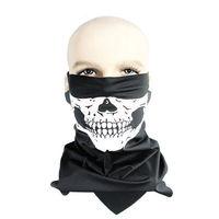 Wind Dust Protect Face Neck Warm Skull Bandana Bike Motorcycle Helmet Neck Face Mask Paintball Ski Sport Headband