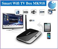 In stock MK888 Android 4.2 TV Box RK3188 Quad Core Mini PC RJ-45 USB WiFi XBMC Smart TV Media Player with Remote Controller