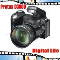 Original Protax New Polo Protax SLR D3000 Digital Camera 16MP 3.0 TFT 8X Zoom Digital Camera HD Digital Video D3000