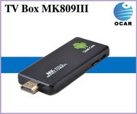 Hot sales!Google quad core WIFI TV Box MK809III with quad core RK3188 Quad Core & android 4.2 OS  Android 4.2 OS