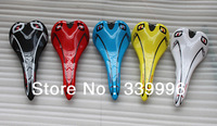 Many colors Hot Selling saddle carbon Most of the brand saddle black-green