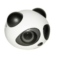 Bluetooth V3.0 + EDR Stereo Speaker PC phone panda audio bluetooth speaker for Apple Samsung HTC