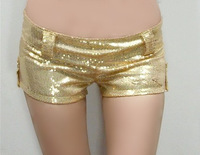 2013 ds costume jazz dance paillette sexy shorts slim hip shorts  Free shipping