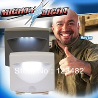 200pcs/lot Battery-Powered Motion-Activated LED Outdoor Night Light,/as seen on tv 2013