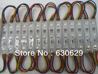 LED RGB color changing module for channel letter or LED sign 3 LED RGB SMD 5050 waterproof IP65 20pcs/lot