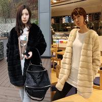 Faux fur coat, sweater fashion Faux version 2013 and South Korea all women in rabbit fur coat, fur coats,fur jacket,winter dress