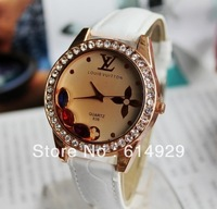 Hot Fashion Brand Quartz Watches  Leather Wrist Watches