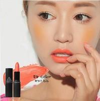 (#507 la la ) Milk Orange Color Moisture Lip stick Korea New Fashion Brand Quality Makeup LIPSTICK Free Shipping