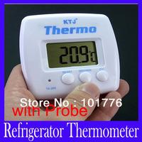 Free shipping high quality LCD Screen Display Digital fridge Thermometer TA268A,MOQ=1