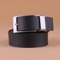 100% Cowhide New 2014 Men Rotatable Buckle Double Face Fashion Brand Name Business Belt Man Strap Male Cinto Ceinture MBT0121