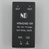 DC DC Converters 48V step down to 24V 10W dc-dc power modules Isolation 1500Vdc
