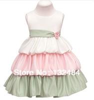 The girl dress Cake dress Fashion princess dress (for 2-8 years)