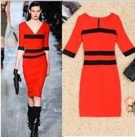 продажа женщин мода Европейского нам стиль платье прямо отделение вечером партии платье леди