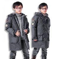 Child down coat large male child down coat drawing two ways a11 disassembly