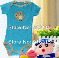 Start from One Romper! Baby Boy Baby Girl Romper Short Sleeve Carter's Animal Rompers Baby Wear Costume 3M-24M