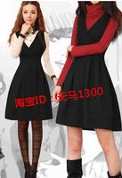 free shipping Pair of autumn one-piece dress women autumn and winter one-piece dress women handmade woolen akkadian