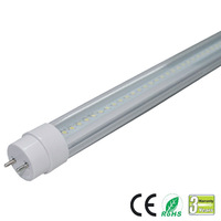 10w led tube T8 4' (1200mm)  Dimmable Clear Lens  85~265VAC , 100~277VAC