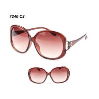 Wholesale Sunglasses plastic frame  Hip Stylish eyeglasses  women' s  eyeglass in Good quality  Free shipping 7240 C2