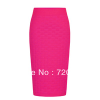Fashion vintage candy color basic elastic slim stripe knitted sexy slim hip knitted bust skirt short skirt women's