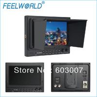 New ! 1024x 600 7 Inch Broadcast SDI Monitor with Squared Segmentation