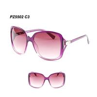 Fashionable and generous Wholesale women's Sunglasses  hard plastic  frame new fahsion  eyeglass  Free shipping PZ5502 C2