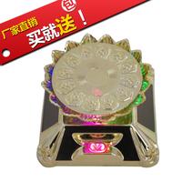 Lotus frame rotary table jewelry rotating swivel plate