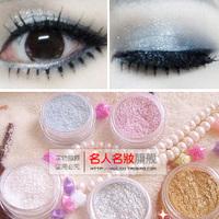 Glitter brighten high-light powder long lasting shinning eye shadow powder bronzer style Free shipping