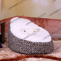 FREE SHIPPING baby bean bag with 2pcs white up covers baby bean bag chair children bean bag chair bean bag seat cover