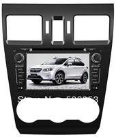 HIGH quality:car dvd gps for 2013 Subaru XV   +steering wheel control  +phonebook+4gb map+dvd+ipod+map+ srs audio processor