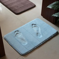 Bathroom absorbent mats doormat slip-resistant mats Memory Foam carpet 5colours 60*40cm $3.98/pc